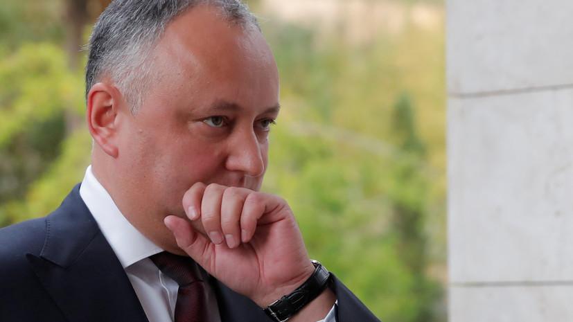 Политолог оценил заявление Додона о возможном закрытии офиса НАТО в Кишинёве