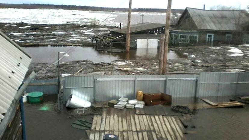 СК возбудил дело о халатности во время паводка в Якутии
