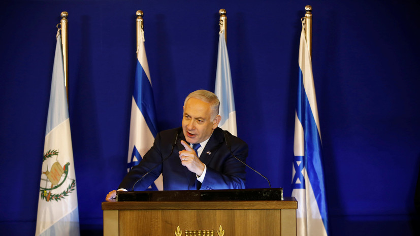 Нетаньяху призвал палестинцев «забросить фантазии» о разрушении Израиля