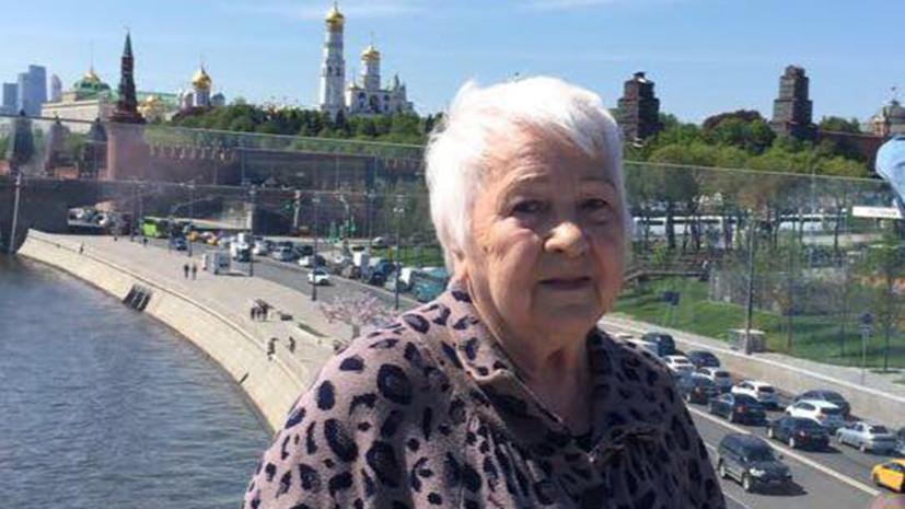 В МВД России взяли на контроль ситуацию с получением гражданства 82-летней блокадницей