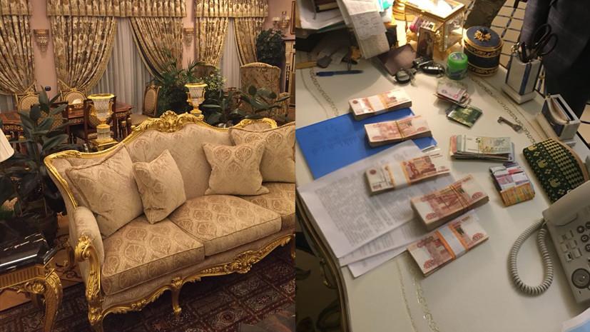 СК опубликовал фото интерьера дома фигуранта дела о хищениях в Эрмитаже