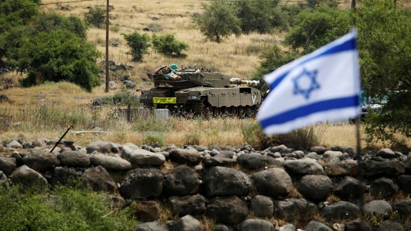 Армия Израиля сообщила об ошибочном включении сирен воздушной тревоги на границе с Сирией