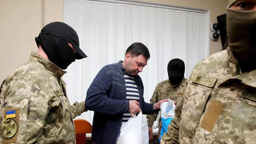 В Совфеде отреагировали на арест главы РИА Новости Украина Вышинского