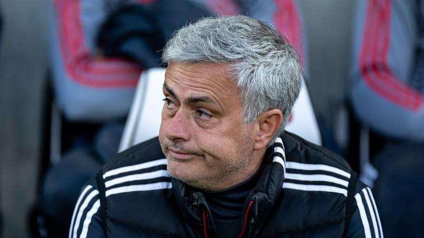 Моуринью считает, что «Реалу» запрещено продавать Роналду