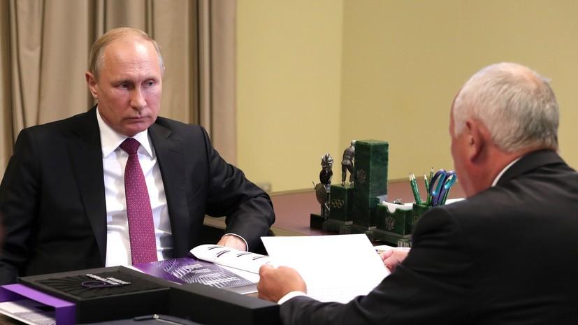 Путин поручил наладить массовое производство машин проекта «Кортеж»