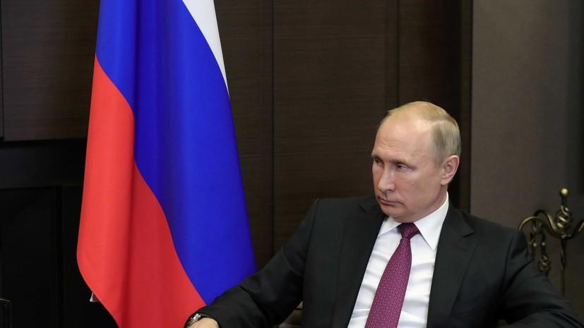 В Кремле огласили темы встречи Путина и Макрона