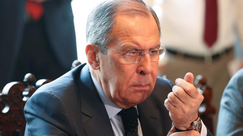 Медведев предложил переназначить Лаврова на пост главы МИД России