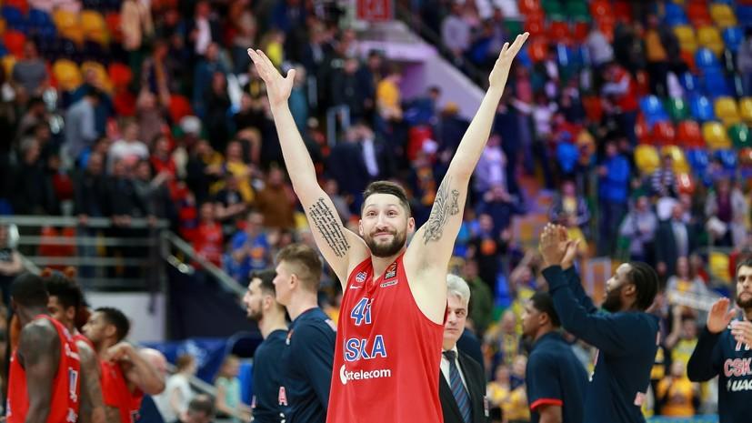 Без явного фаворита: ЦСКА сыграет с «Реалом» в полуфинале баскетбольной Евролиги