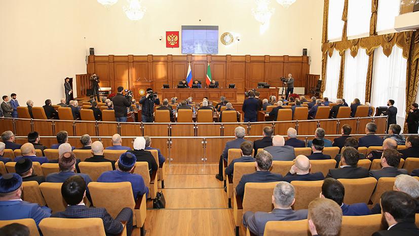 Парламент Чечни объяснил идею увеличить число президентских сроков