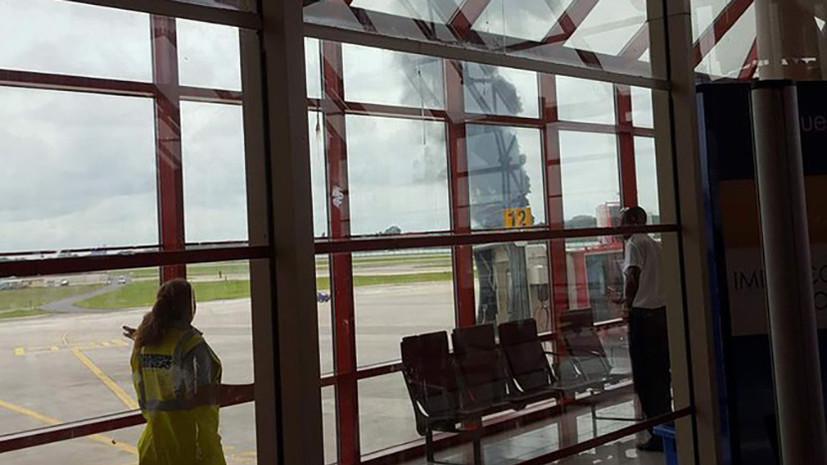 Пассажирский самолёт разбился на Кубе