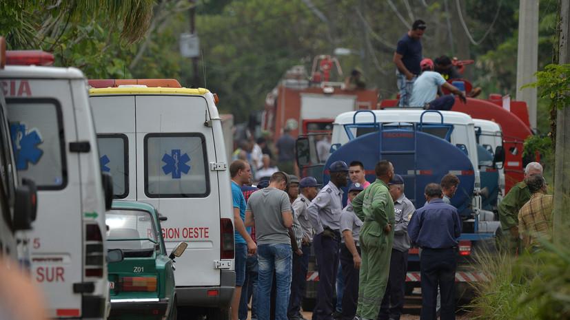СМИ сообщили о выживших при крушении Boeing 737 на Кубе
