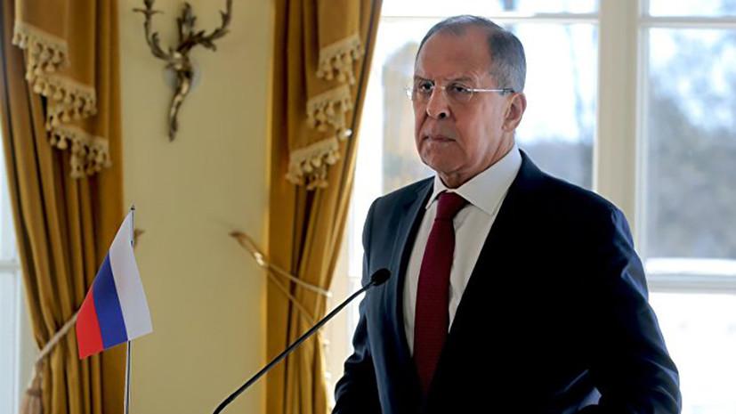 Лавров заявил, что Россия продолжит содействовать развитию межкорейского диалога