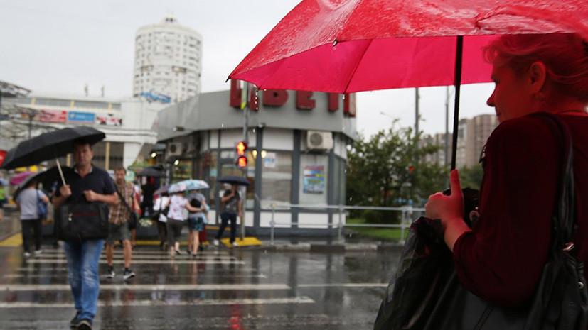 В Москве выпало свыше 40% месячной нормы осадков менее чем за сутки