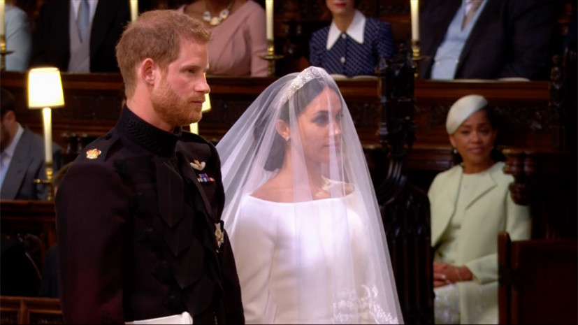 Принц Гарри и Меган Маркл поженились в Виндзоре