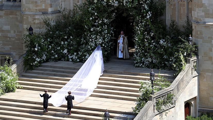 В Виндзоре началась свадебная церемония принца Гарри и Меган Маркл