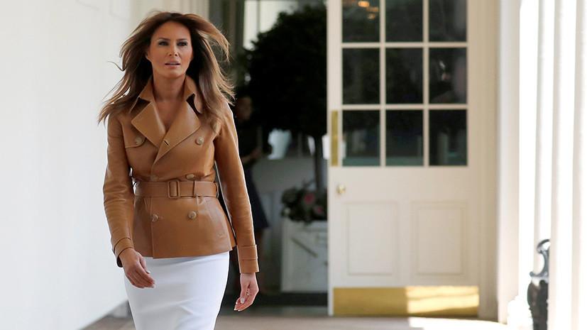 Меланья Трамп вернулась в Белый дом
