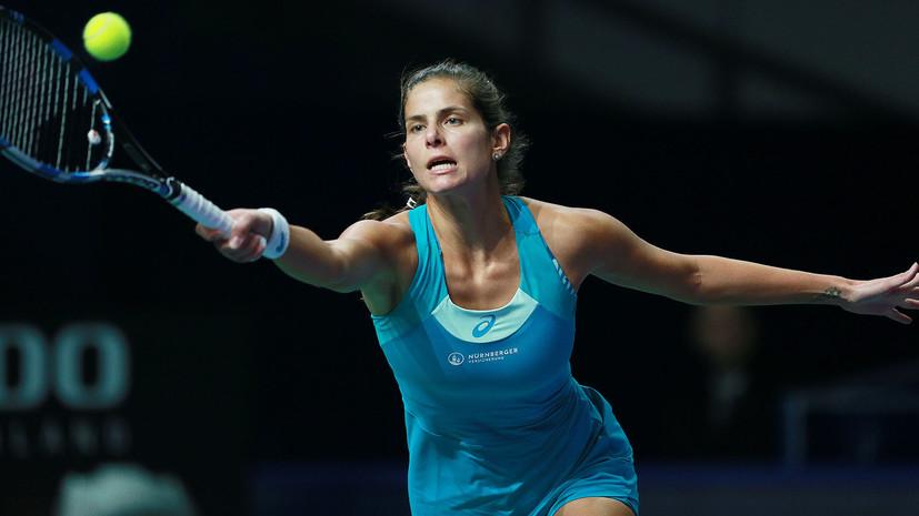 Вихлянцева пробилась во второй круг теннисного турнира в Страсбурге