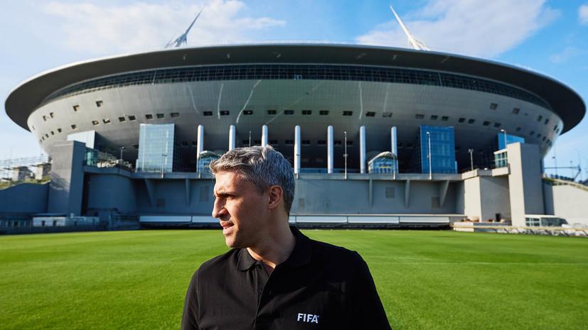 Экс-футболист сборной Аргентины Креспо: жаль, что стадион в Санкт-Петербурге сложно украсть