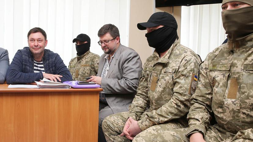 Захарова назвала арест Вышинского частью пропагандистской работы Запада против России