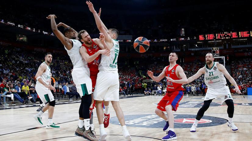 Президент Единой лиги ВТБ раскритиковал выступление баскетболистов ЦСКА в Евролиге