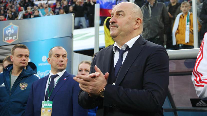 Черчесов рассказал, когда объявит окончательный состав сборной России на ЧМ-2018
