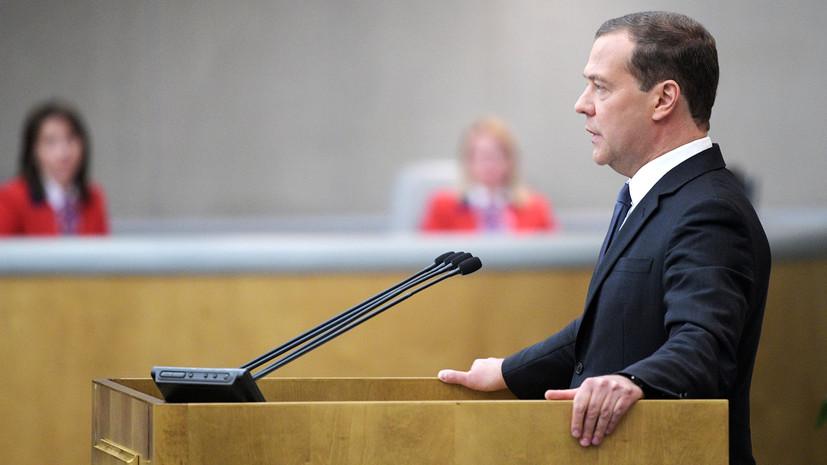 Медведев заявил о недопустимости нарушения графика реализации майского указа Путина