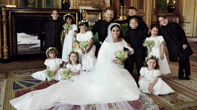 Опубликованы официальные фотографии со свадьбы принца Гарри и Меган Маркл