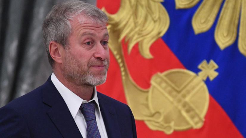 Абрамович не просил посольство России помочь в вопросе продления британской визы