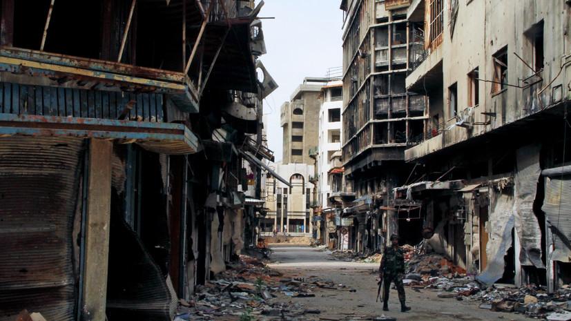«Продолжают пособничать террористам»: в сирийском Хомсе нашли принадлежащие боевикам склады оружия из стран НАТО