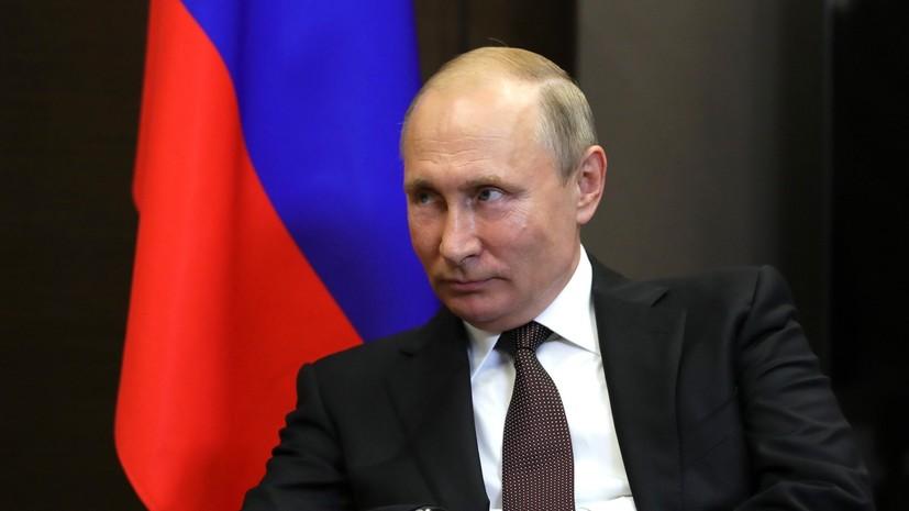 Путин поздравил Мадуро с переизбранием на пост президента Венесуэлы