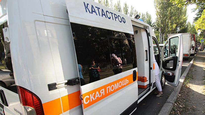 При подрыве автобуса в Дебальцеве пострадали двое детей