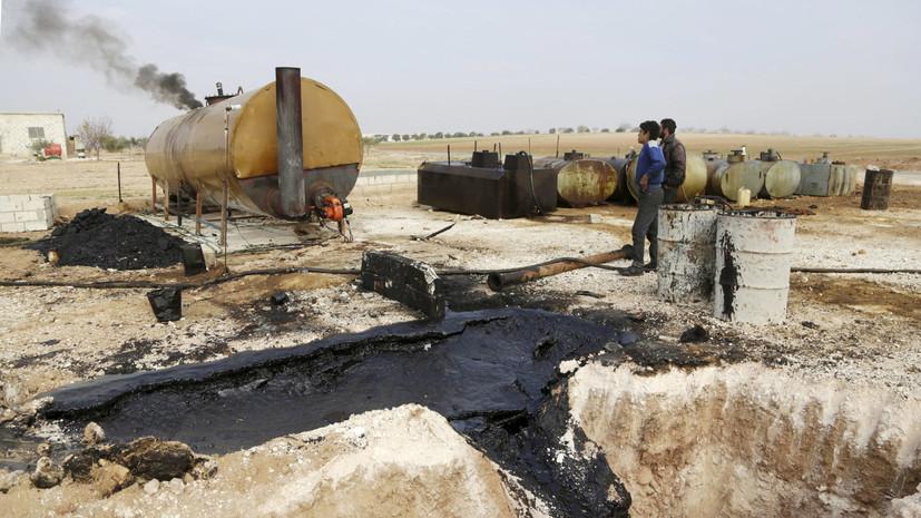 В МИД Сирии заявили о намеренной бомбардировке нефтяных скважин коалицией