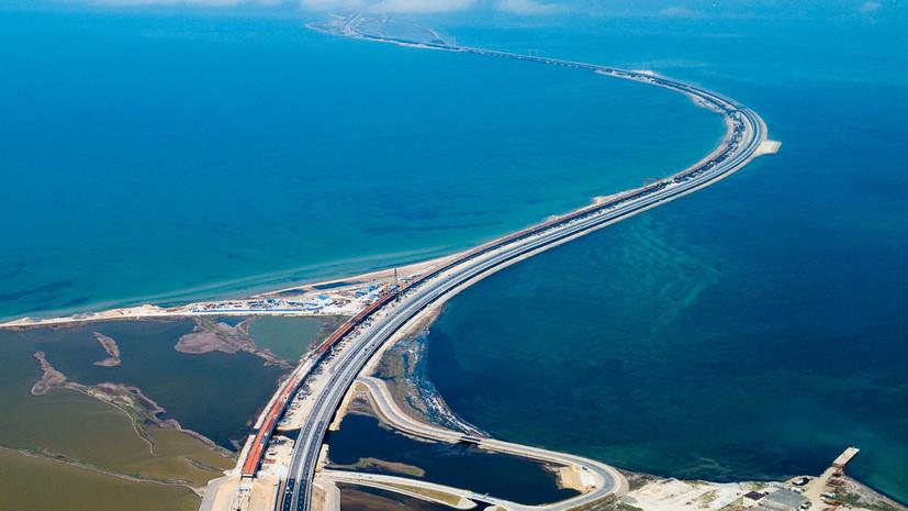 в России отреагировали на заявления депутата Рады о принадлежности Крымского моста Украине