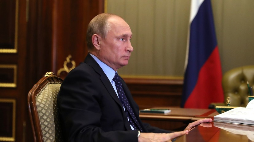 Путин призвал рассмотреть вопрос увеличения состава противопожарной службы
