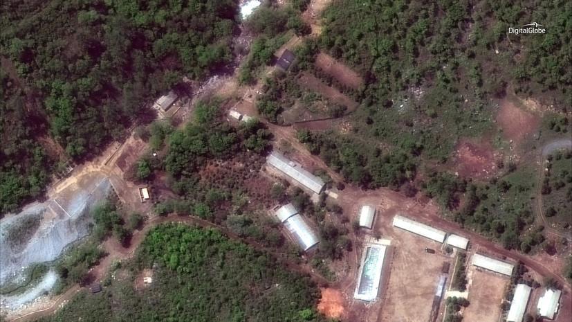 В КНДР завершён демонтаж ядерного полигона