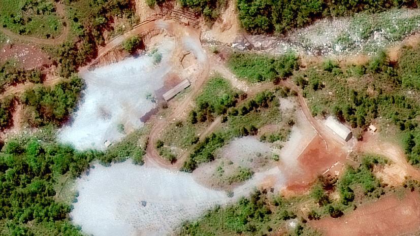 В КНДР назвали сигналом о добрых намерениях уничтожение новых ядерных шахт Пхунгери