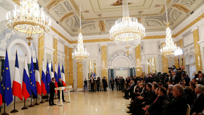 Макрон заявил, что Франция получила «позитивную информацию» об Иране от МАГАТЭ