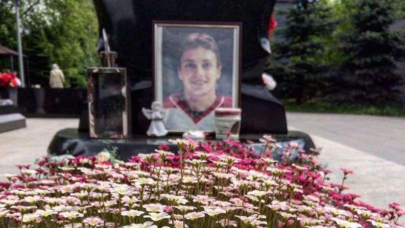 Вандалы разграбили могилы погибших хоккеистов ярославского «Локомотива»