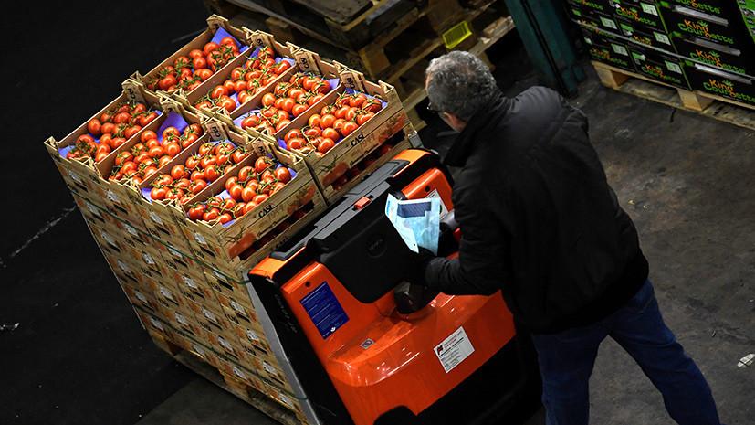Россельхознадзор выявил нарушения в поставках турецких томатов
