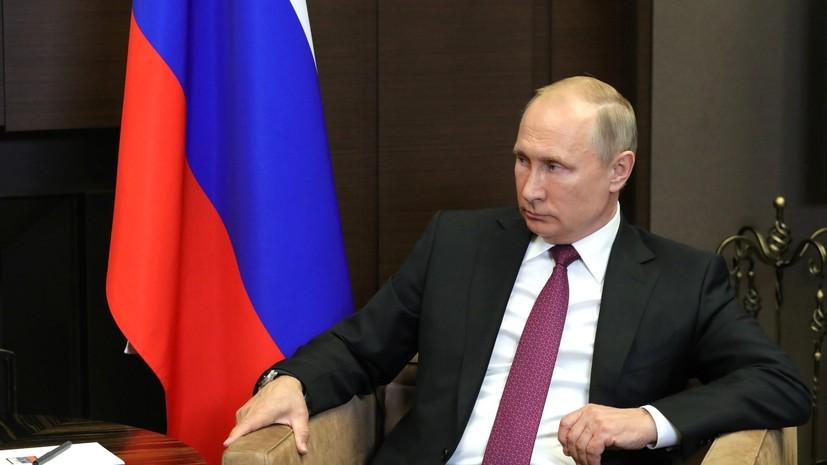 Путин заявил, что не намерен выдвигать свою кандидатуру на третий президентский срок подряд