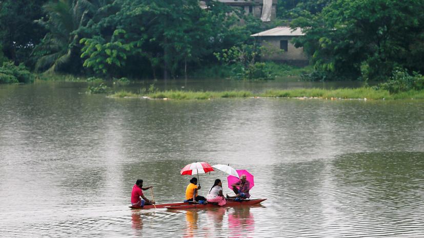 Не менее 19 человек погибли в результате сильных дождей на Шри-Ланке