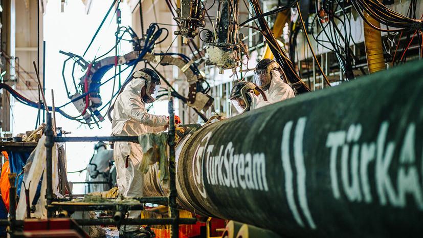 «Газпром» подписал сАнкарой протокол о новоиспеченной нитке «Турецкого потока»