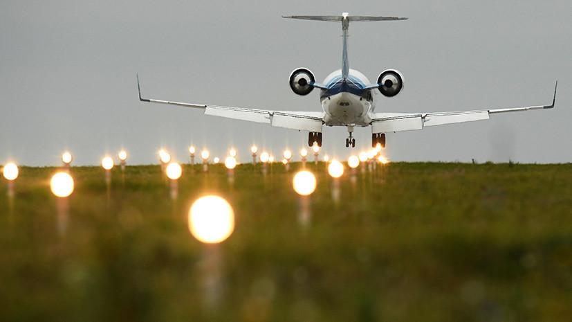 Летевший рейсом Чебоксары — Анталья самолёт экстренно сел в Казани