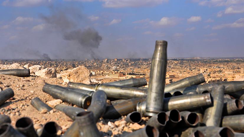 Атака в Дейр эз-Зоре: в Сирии при нападении террористов погибли четверо российских военных