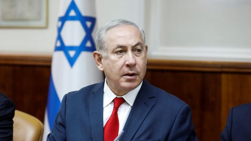 Нетаньяху заявил, что Израиль не допустит нападений со стороны сектора Газа