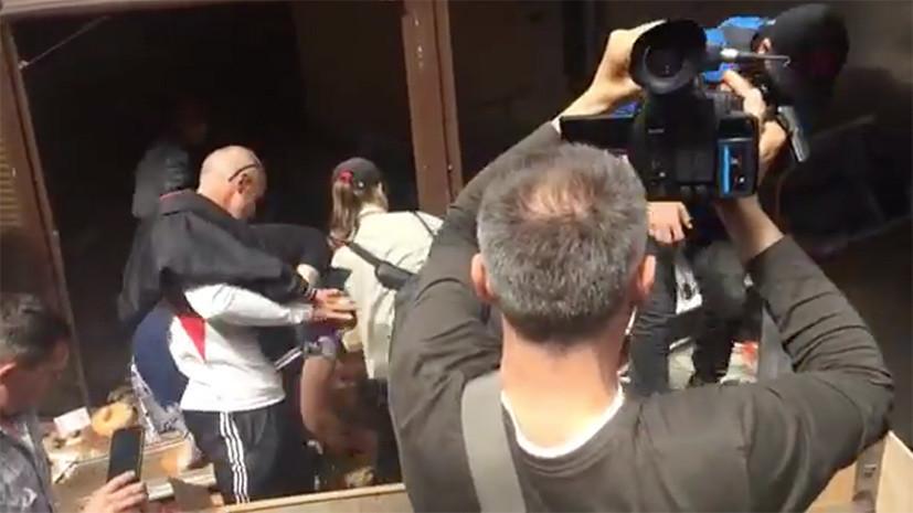 Число задержанных после погрома на рынке в Киеве возросло до 34 человек