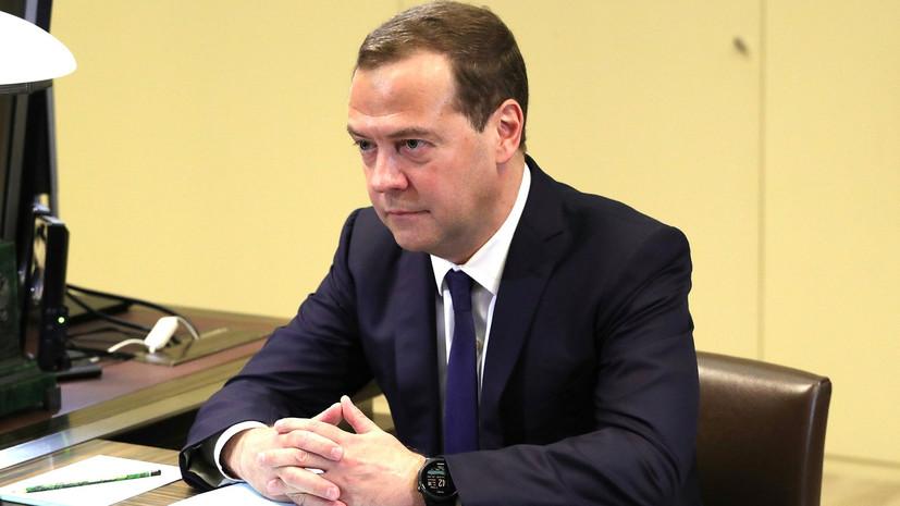 Медведев приедет в Таджикистан и встретится с главами правительств стран СНГ