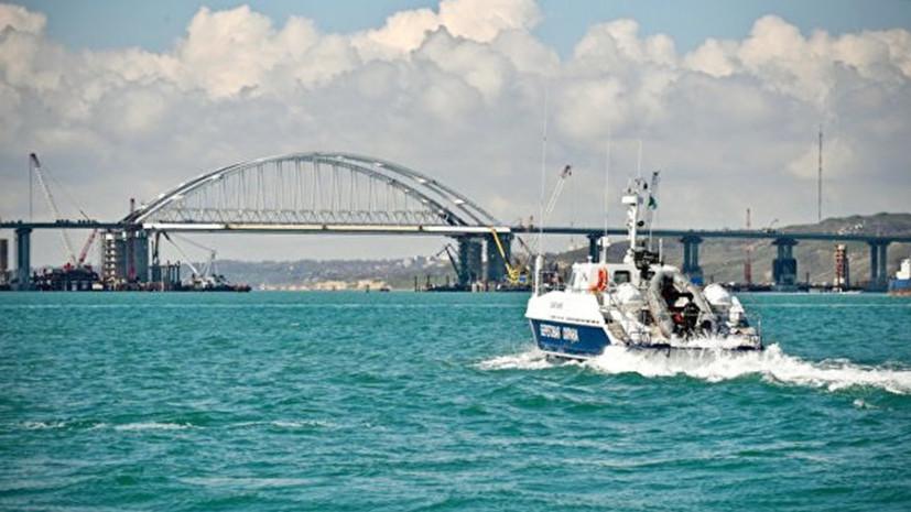 Украинский адмиралсообщил о «гибридной угрозе» в Азовском море