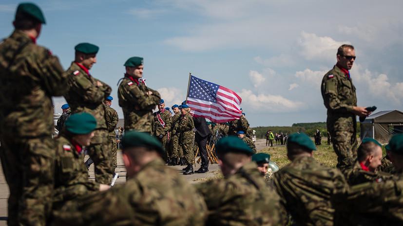 Песков прокомментировал сообщения о готовности Польши разместить у себя военную базу США