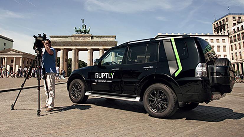 Ruptly завоевало главный приз премии в области онлайн-журналистики Drum Online Media Awards